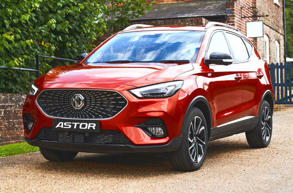 MG Astor SUV unveiled ahead of India launch In October 21